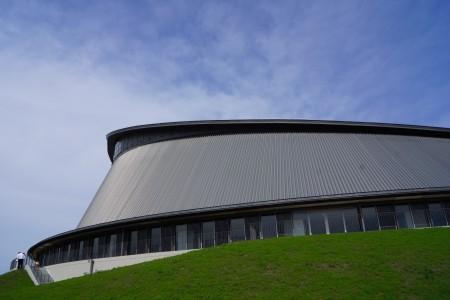 静岡県草薙総合運動場体育館 外観2