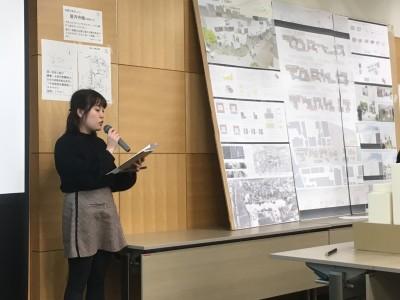 島田里沙さんのプレゼンテーション