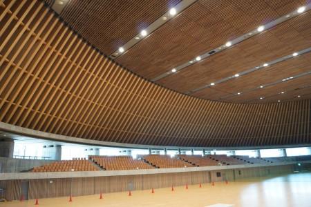静岡県草薙総合運動場体育館 内観2