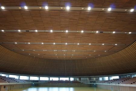 静岡県草薙総合運動場体育館 内観1