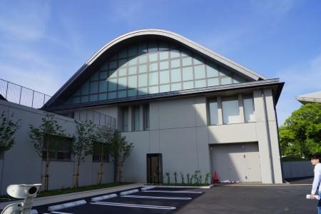 静岡県草薙総合運動場体育館 サブフロア外観