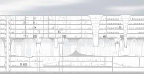 都市の大きな風景 ―10000㎡の外部環境を内包する建築―