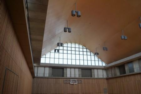 静岡県草薙総合運動場体育館 サブフロア内観1