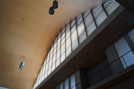 静岡県草薙総合運動場体育館 サブフロア内観2