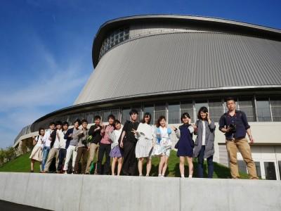 静岡県草薙総合運動場体育館 集合写真