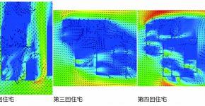 藤井厚二の一連の実験住宅の変遷過程 ―通風計画に着目して―