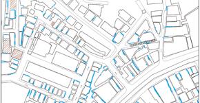 建物の配管の分布様態から見た渋谷道玄坂エリアの都市構造